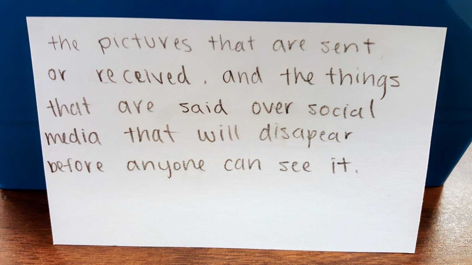 Skipper Coates 9th grade social media confessions