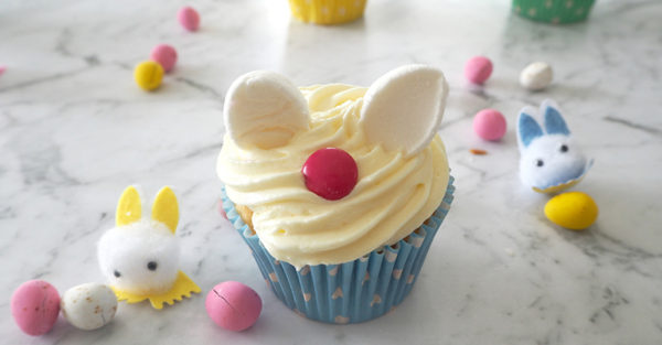 Easter Bunny cupcakes recipe