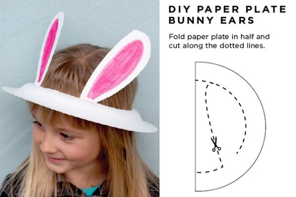 Paper plate bunny ears  sc 1 st  Babyology & 6 of the easiest Easter hats to make for your little preschooler