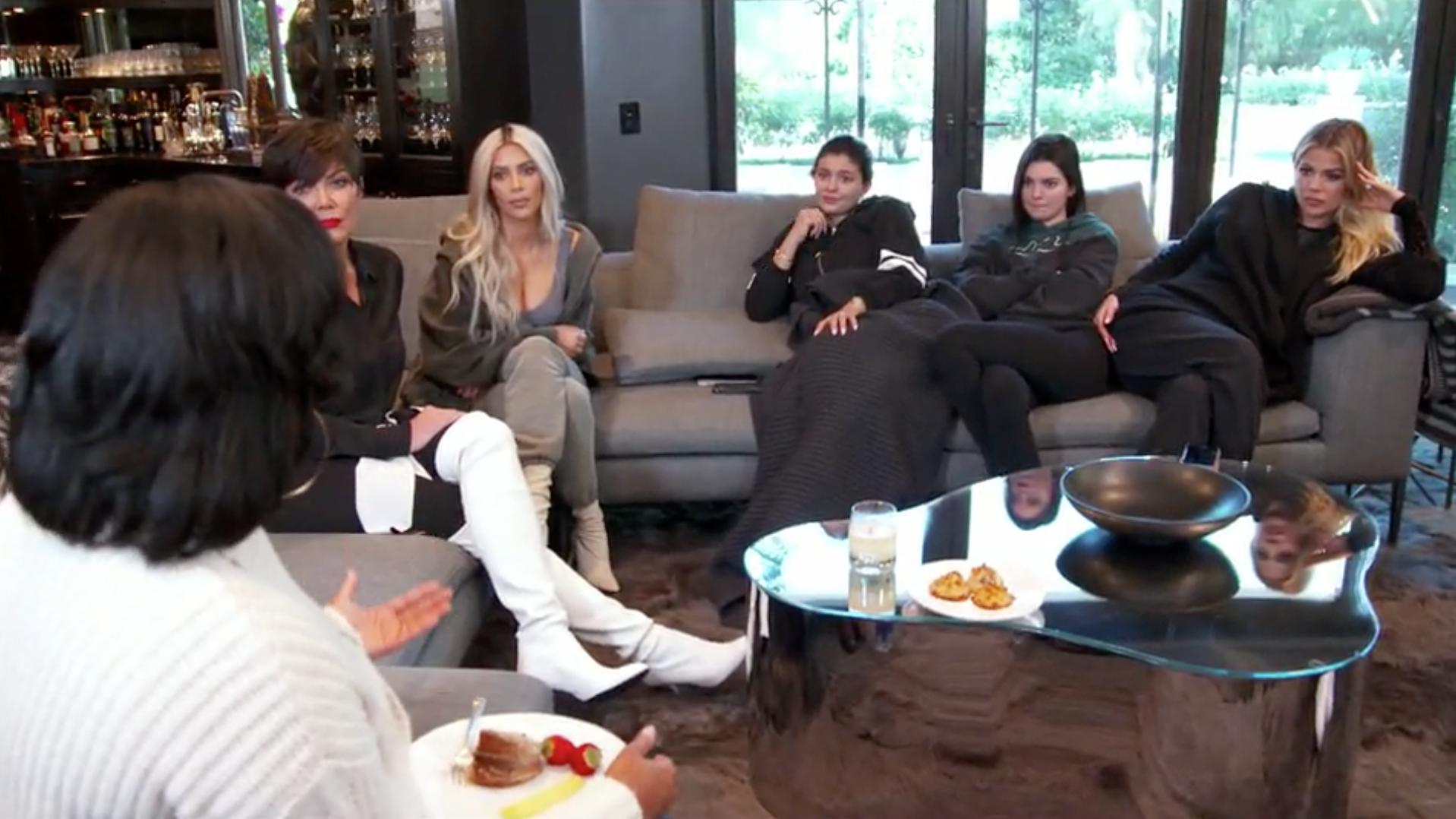 Kim K and family