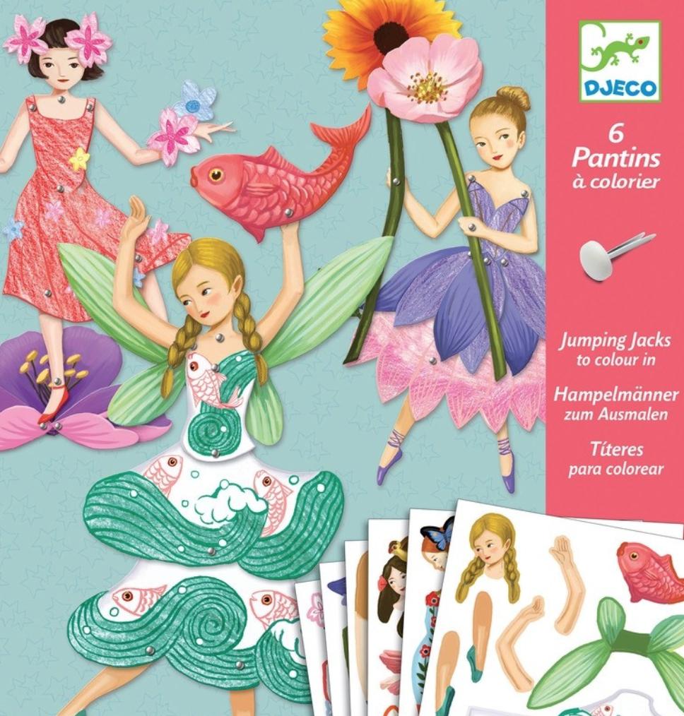 Fairy puppet set