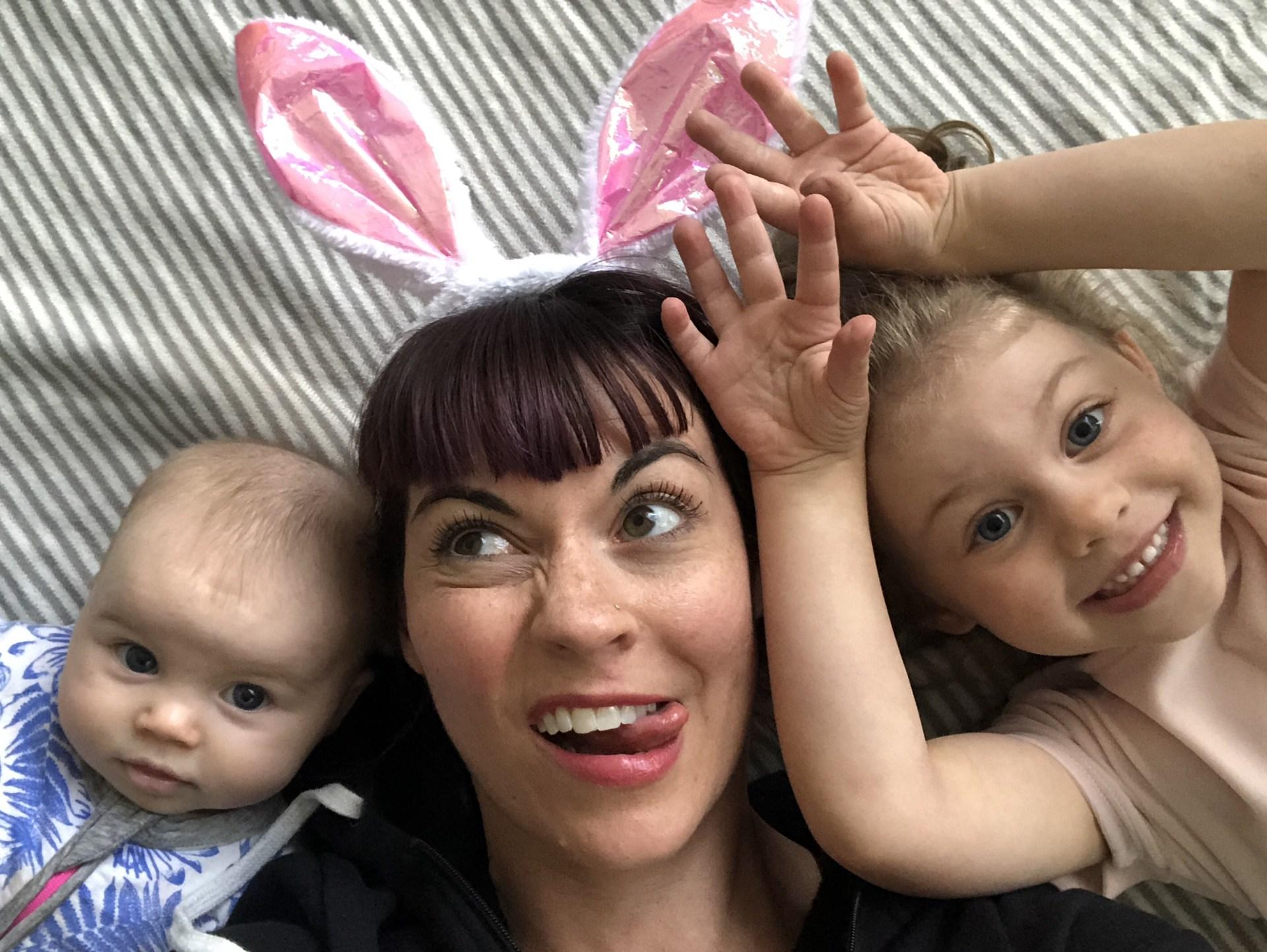 Dawn Reinets and children