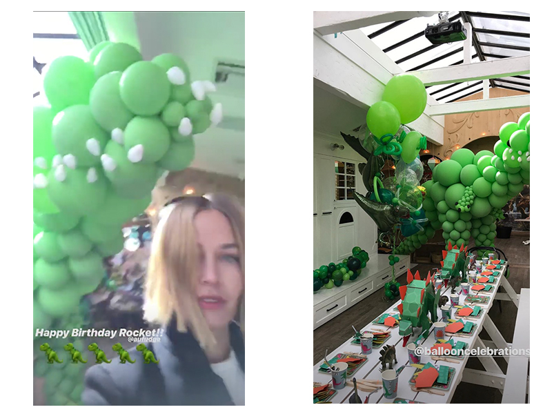 Lara Bingle at Rocket's party