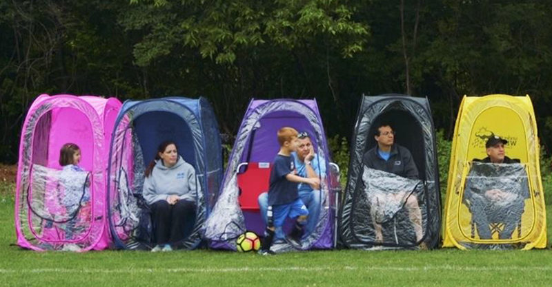 Snazzy Sporty Sideline Tents Are The Genius New Mum And