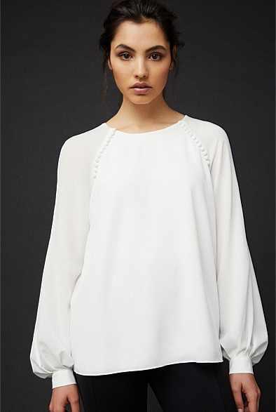 Witchery OCRF Blouson Shirt