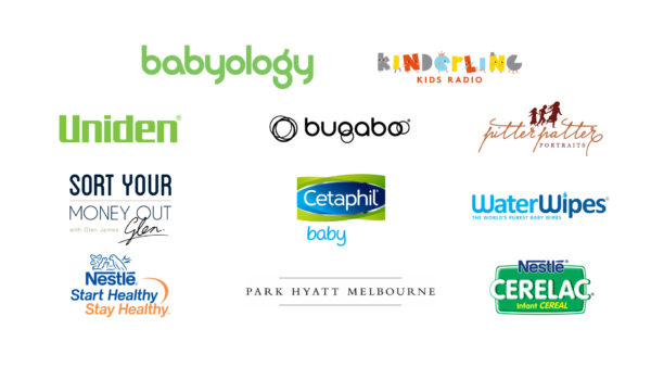2018 Babyology Baby Shower Sponsors
