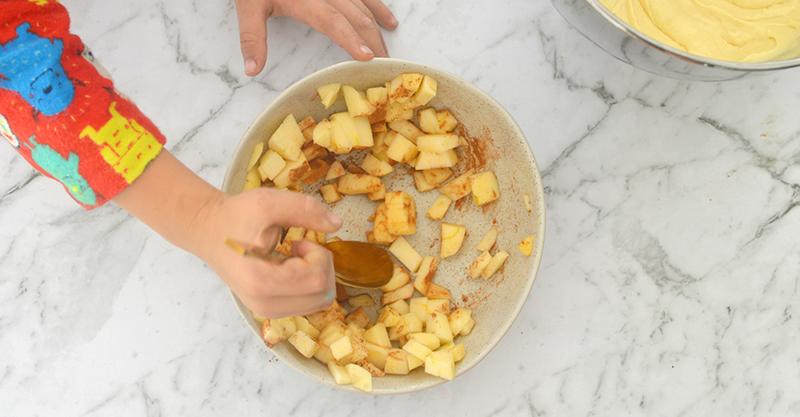 Apple and Cinnamon Loaf