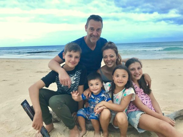 Kate Hollobon and family 2