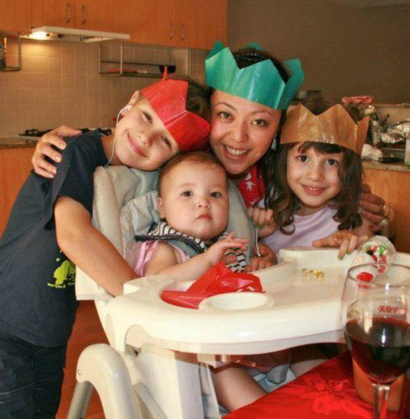 Kate Hollobon blended family