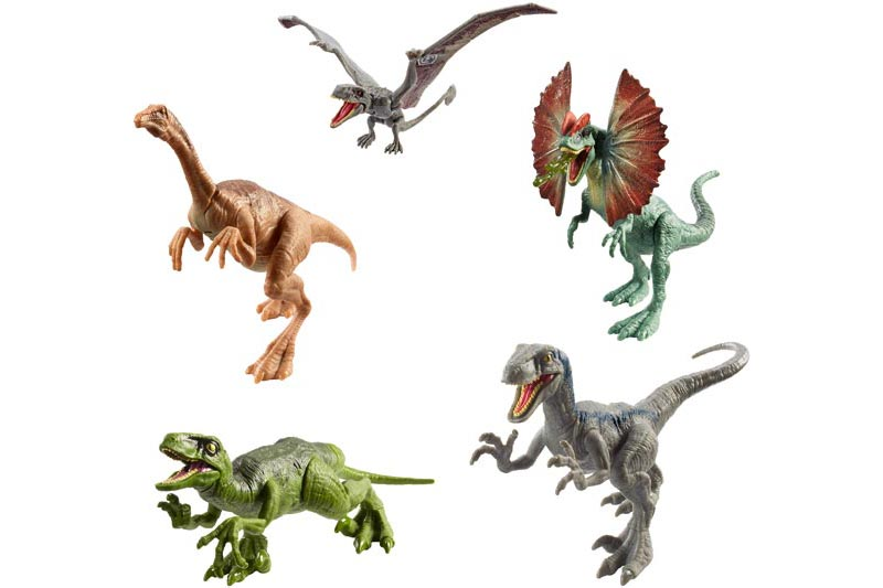 Jurassic World attack pack