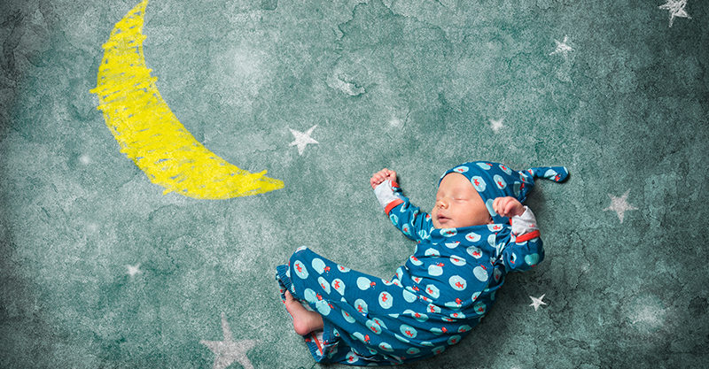 Baby in stars