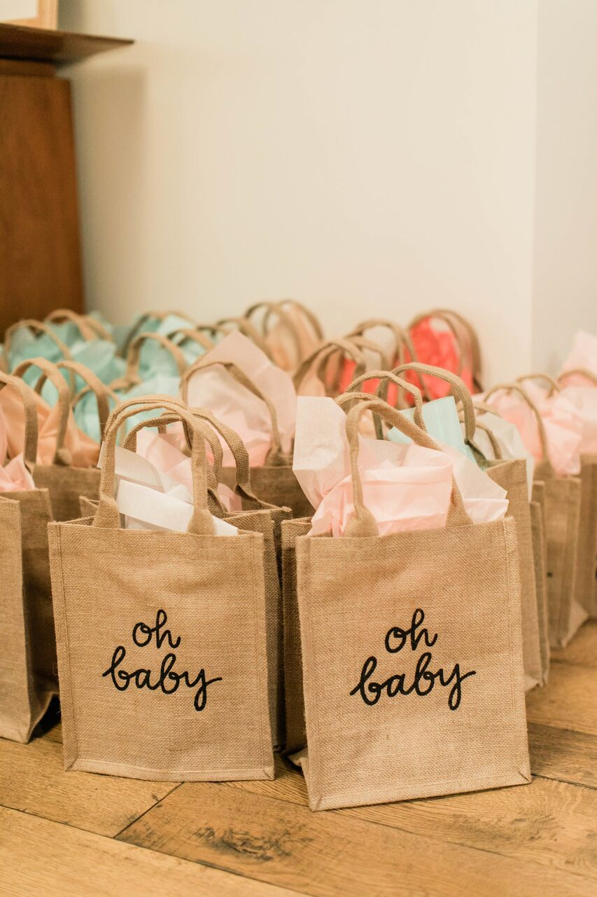 Haylie Duff Baby Shower goodie bags