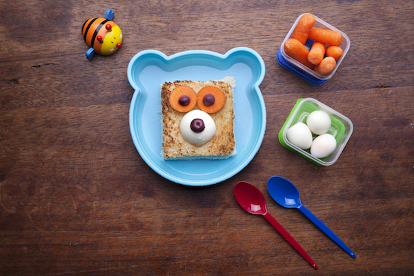 Cute toddler snack food