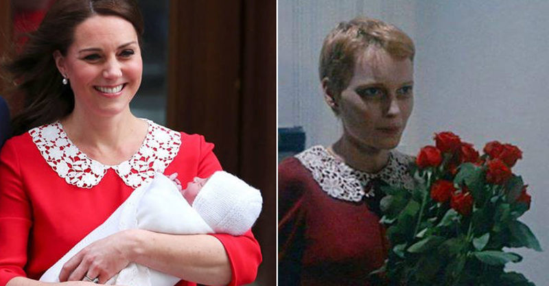 Duchess Kate and Mia Farrow