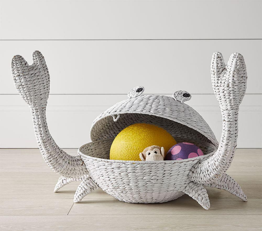 Crab basket from Pottery Barn Kids