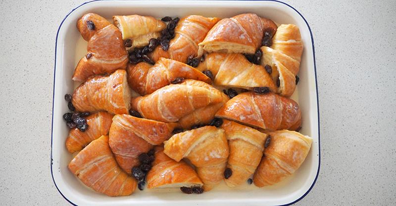 croissant pudding recipe