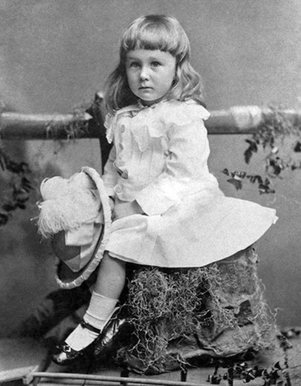 Franklin Roosevelt in 1884