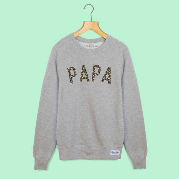Papa sweat shirt