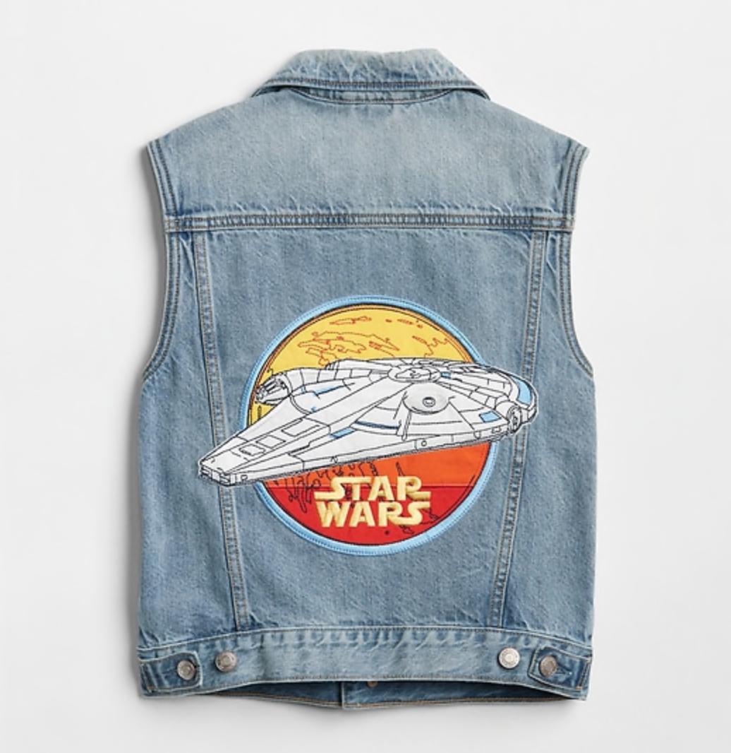 Star Wars denim vest