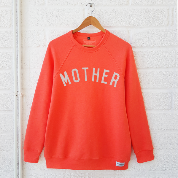 Coral MOTHER sweat shirt