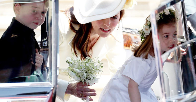 there were two special mumthemed royal rings at harry and