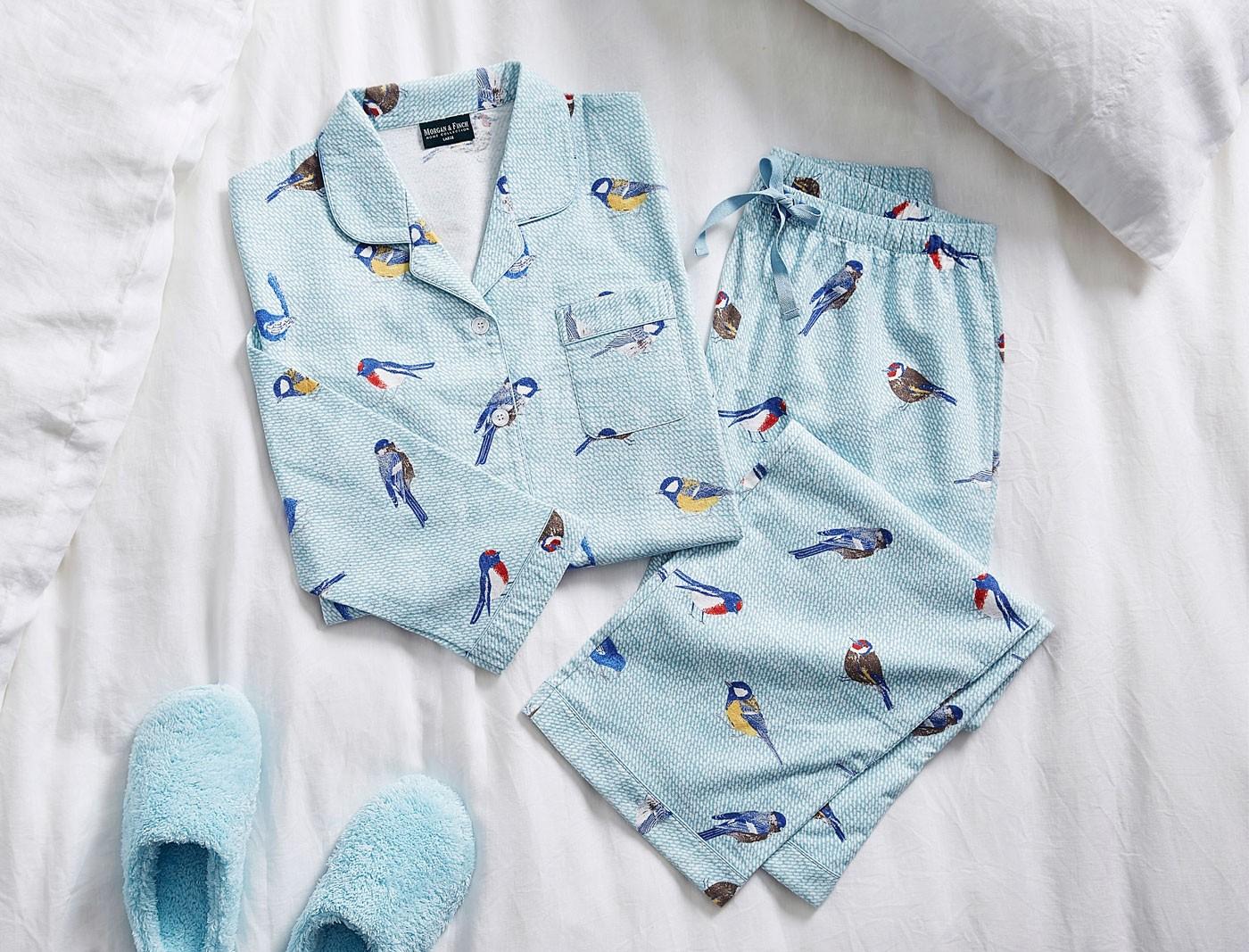 Birdy Flannelette Pyjamas