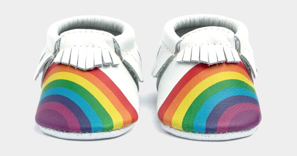 Rainbows on Your Toes