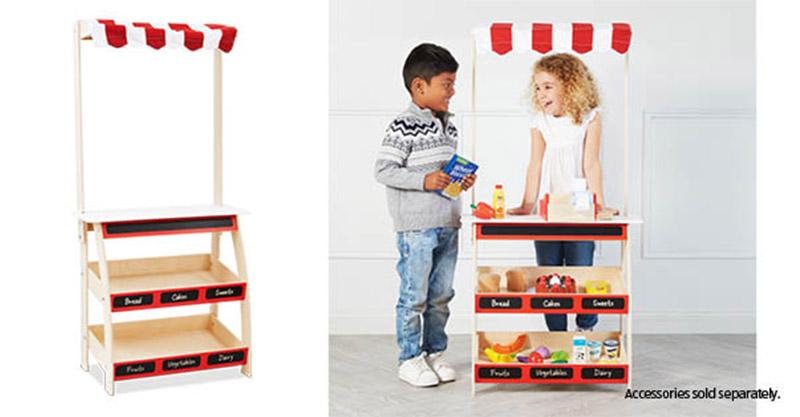 Aldi Market Stall toy