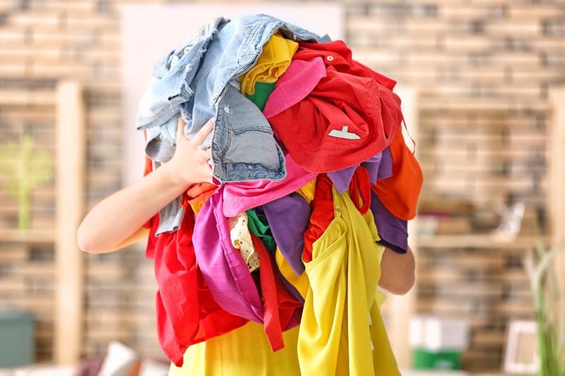 Washing pile