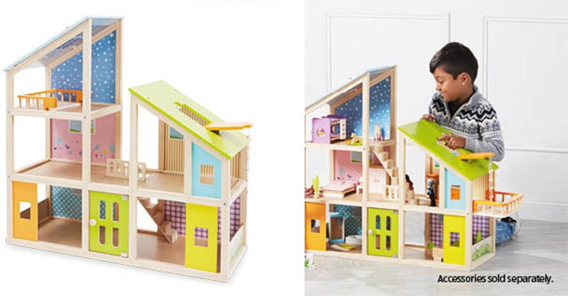 Aldi wooden dolls house