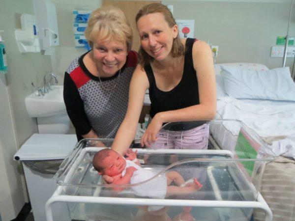 Colleen, Melissa & Grace Clark