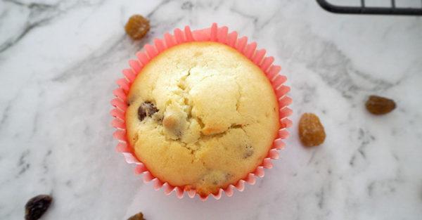 orange and sultana muffins