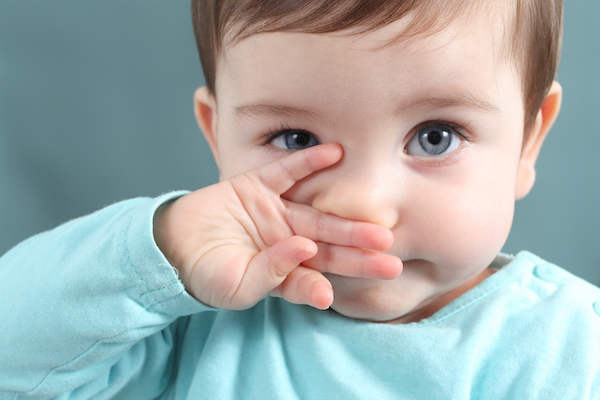EDITORIAL: Baby touching nose