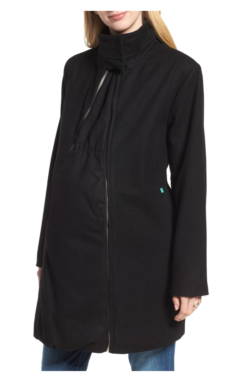 Product: Convertible 3-in-1 Maternity/Nursing Coat by MODERN ETERNITY