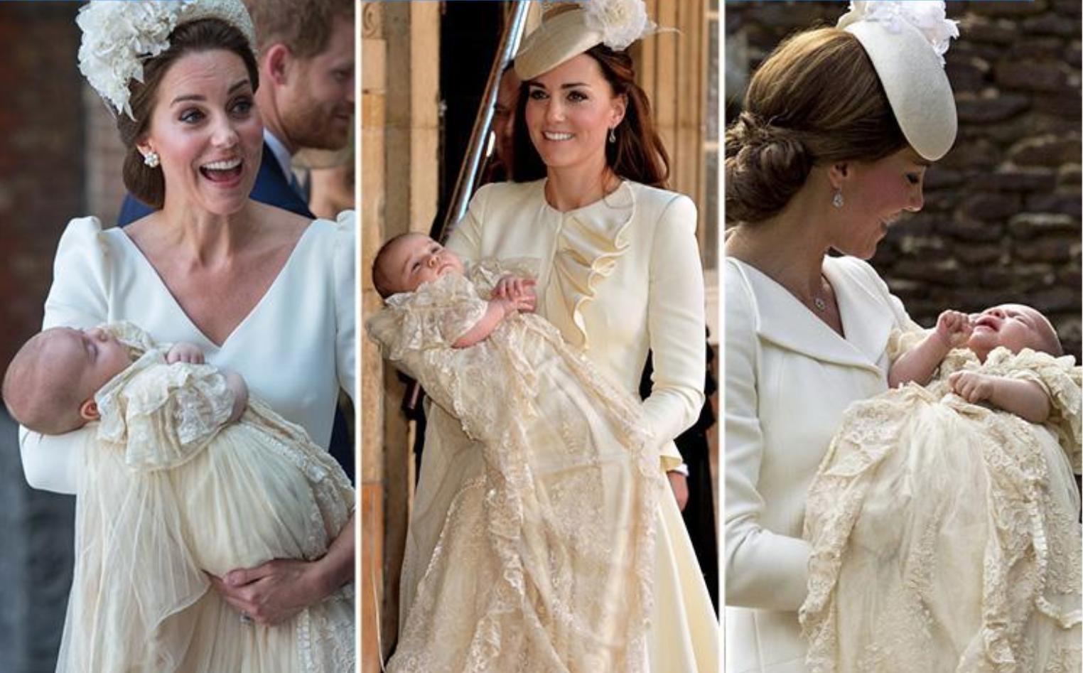 Kate Middleton christening fashion