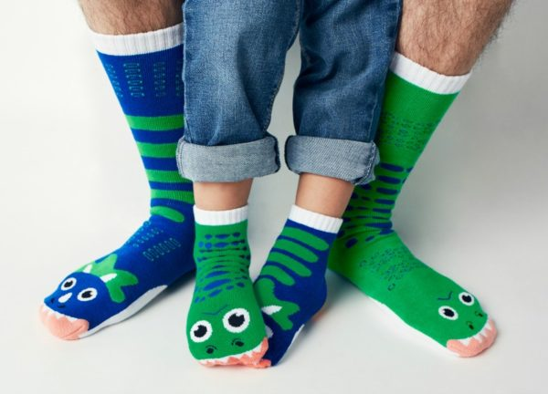 adult and child socks