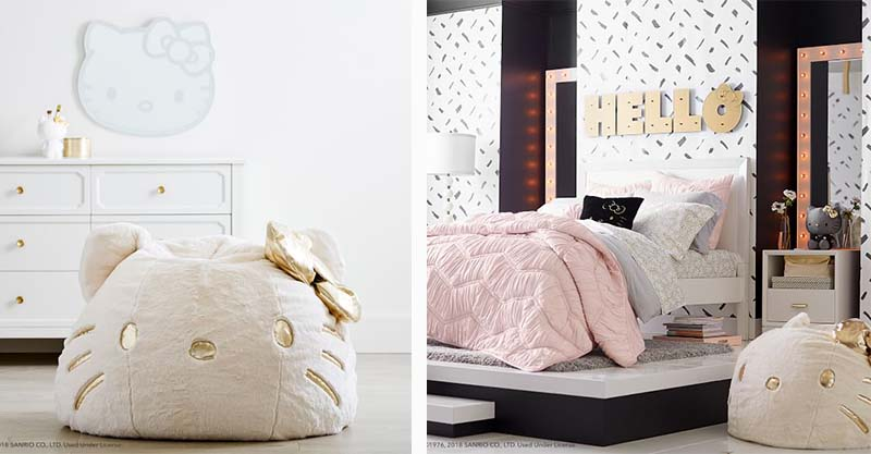 Pottery barn 39 s new collaboration with hello kitty is a - Pottery barn hello kitty ...