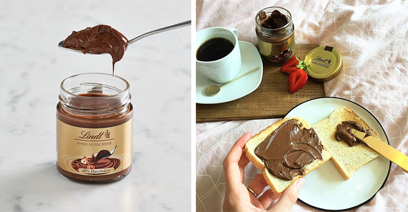 Product: Lindt Hazelnut Spread