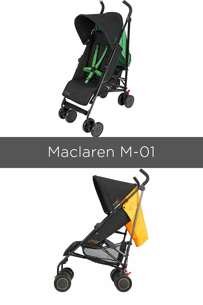 Mclaren M-01 stroller - best prams of 2018
