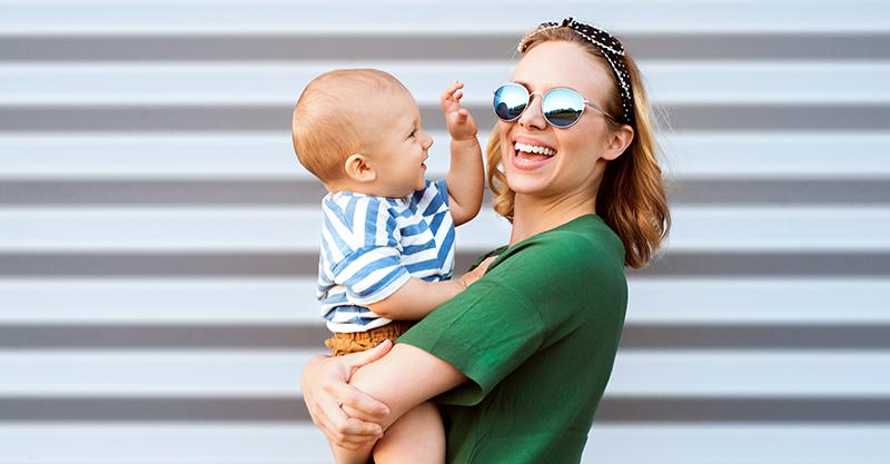Editorial: Mum and toddler