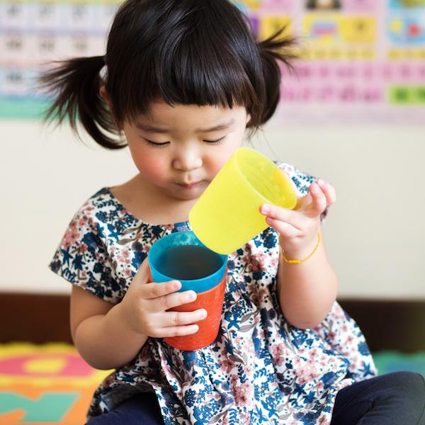 Kindergarten child / girl