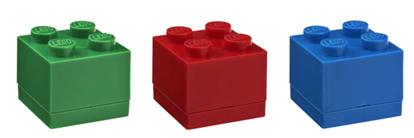 Lego Mini Lunch Boxes