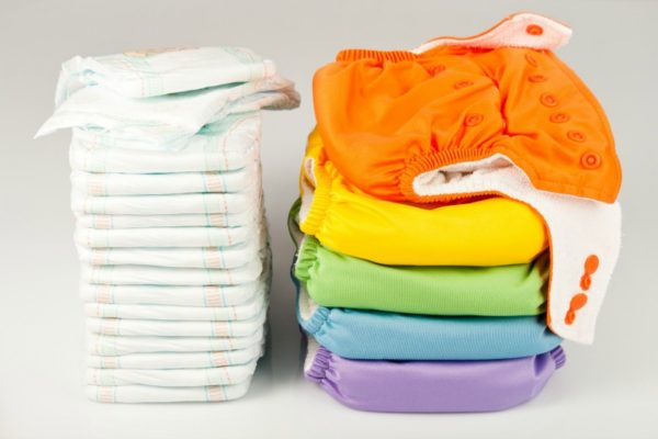 cloth nappies and disposable