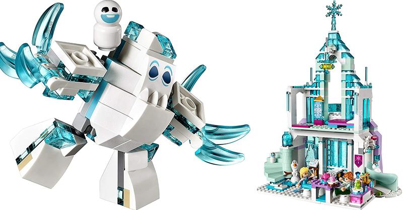 Frozen lego - Elsa's Magical Ice Castle