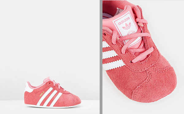 Gazelle Crib shoes by The Iconic