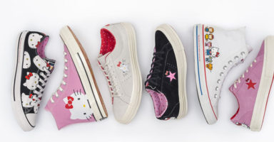 The cutest Hello Kitty and Converse collaboration launches this week