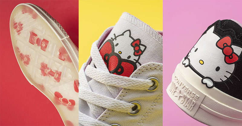 Hello Kitty x Converse shoes