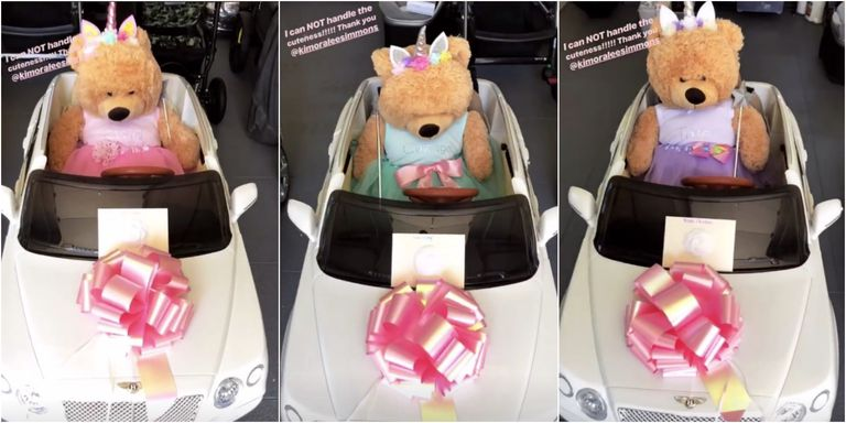 Kardashian baby Bentleys