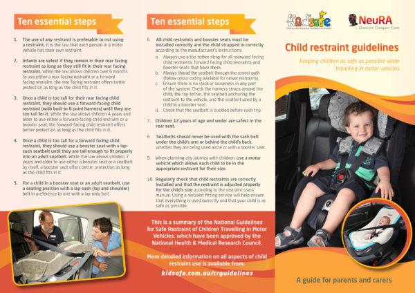 kid safe child car seat guidelines