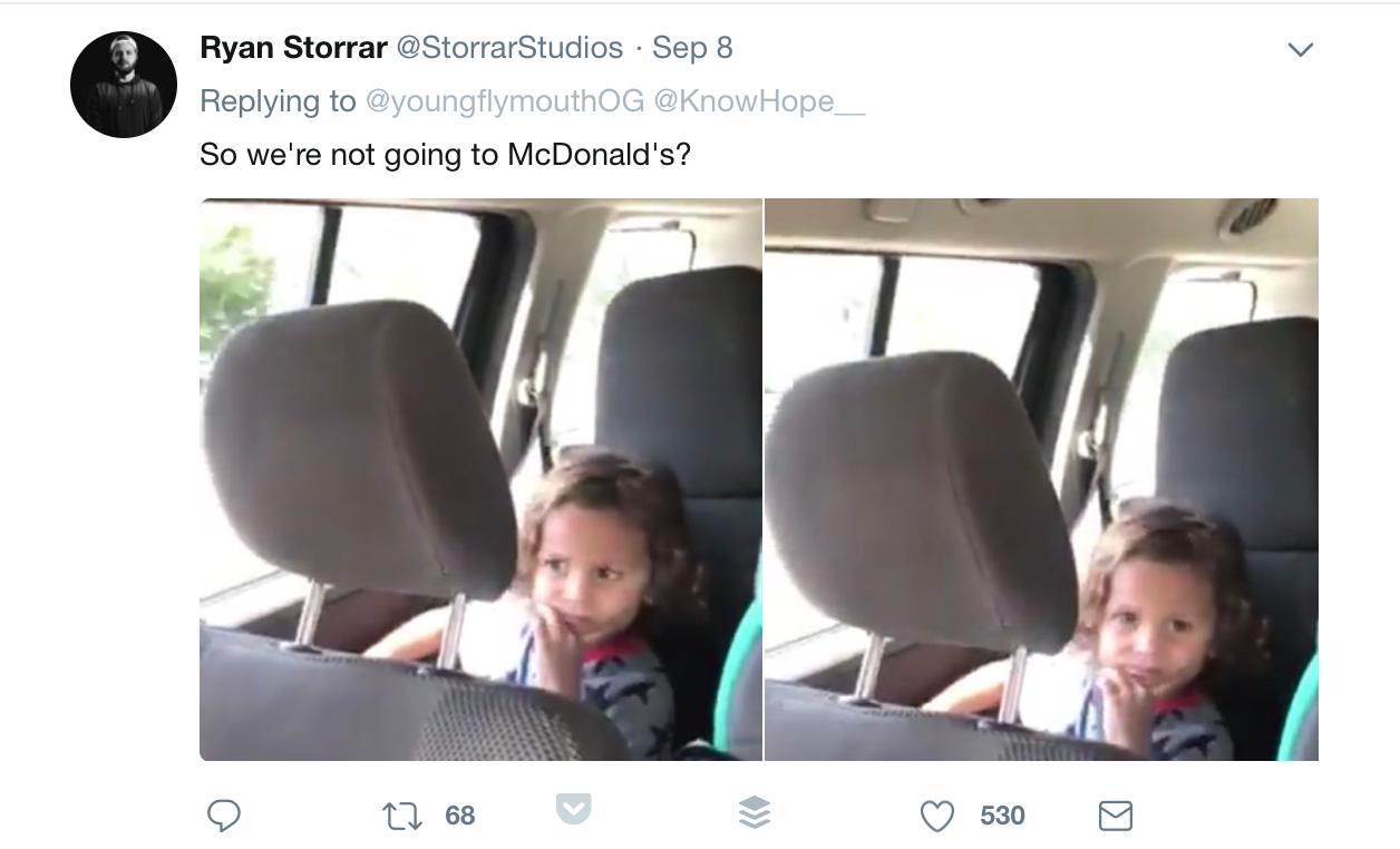 The Finesser Twitter car birth